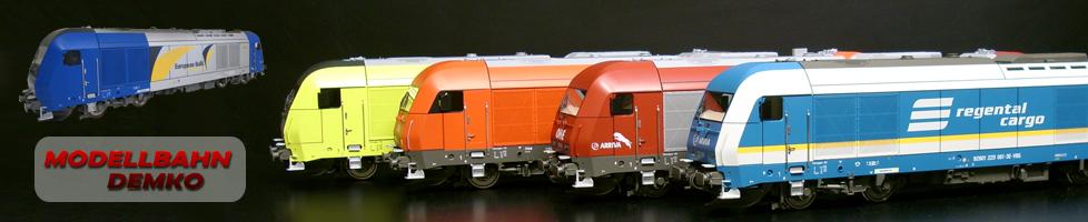 Demko Modellbahn-Logo